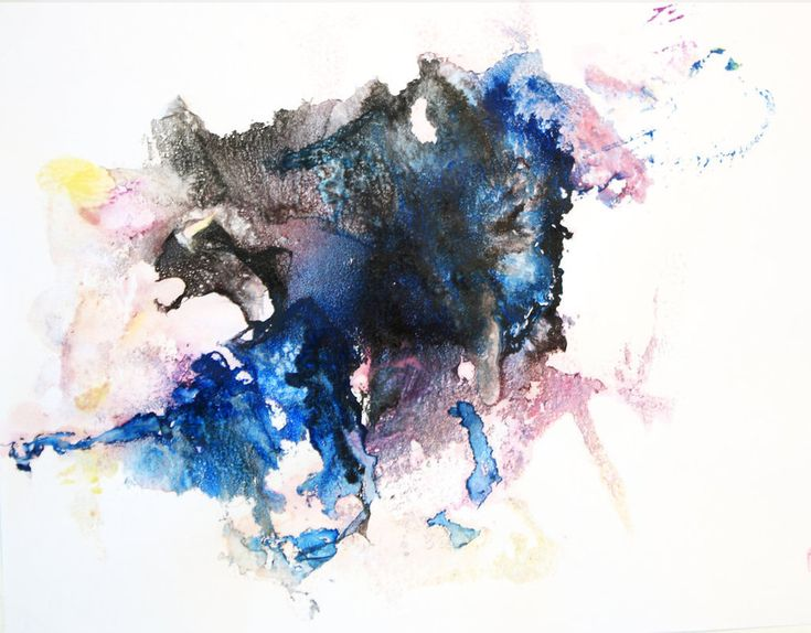 Abstract watercolor animals