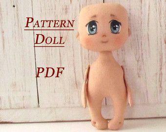 Lerika Doll Pattern Doll Body PDF Sewing Pattern от LerikaDolls