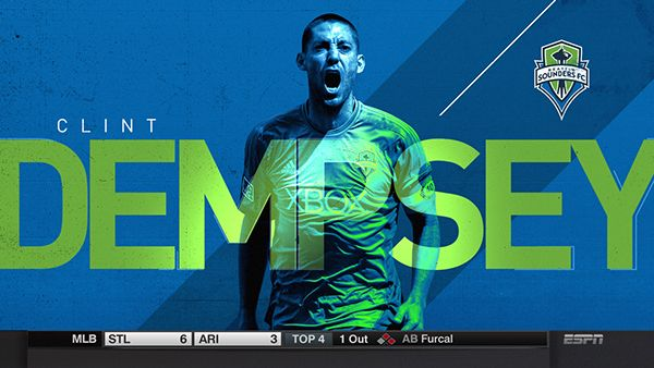ESPN MLS Player Front End Look on Behance