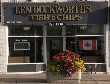 Since 1930, specializing in traditional fish and chips and seafood. Dine-in, take-out, and delivery.