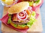 Hamburger met spek