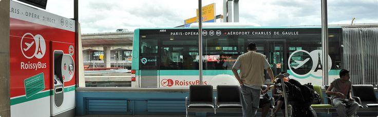 Bus, RER and Metro schedule Paris