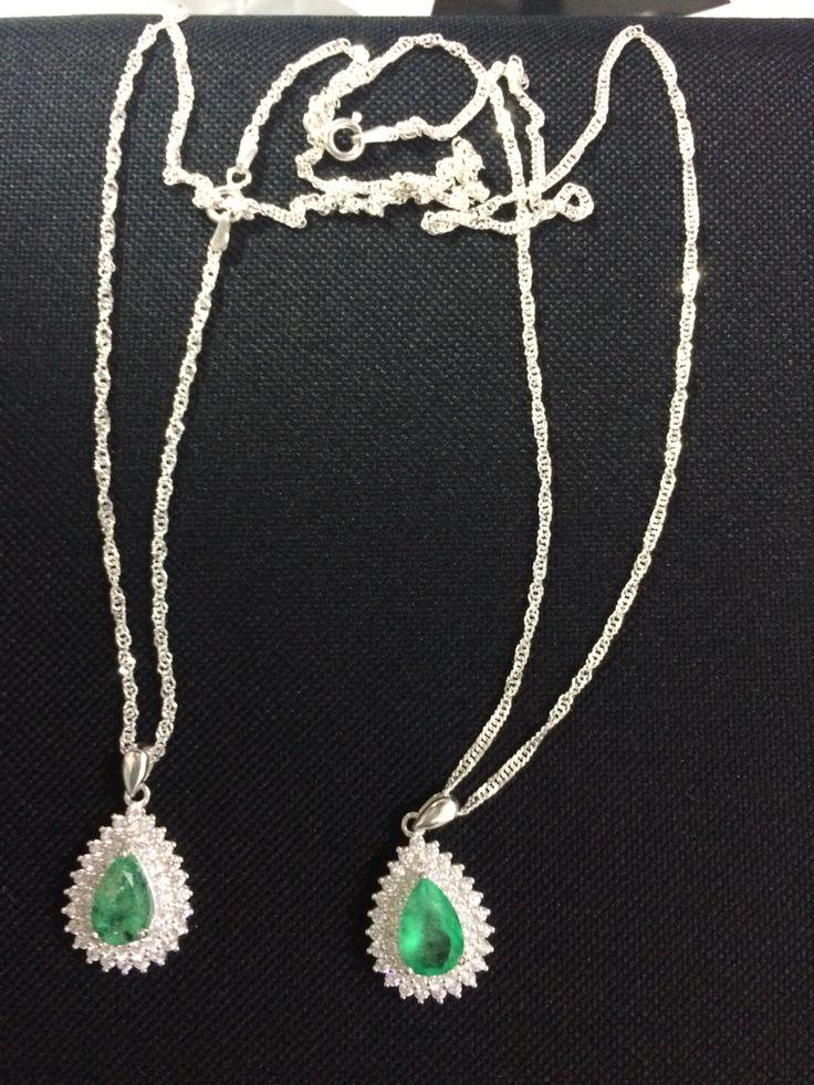 Aderezos plata y esmeralda genuina por solo 400 dólares  Llama a Raul vargas. USA  213 2735316.   773 9019735