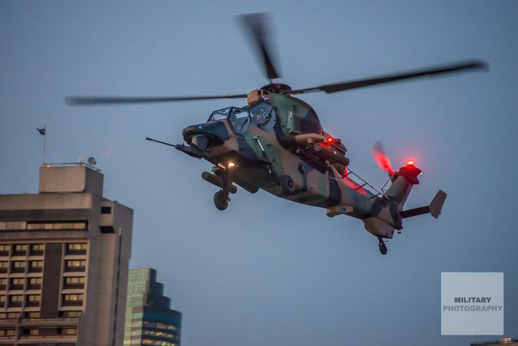 Australian Army Aviation – ARH Tiger over the Brisbane River