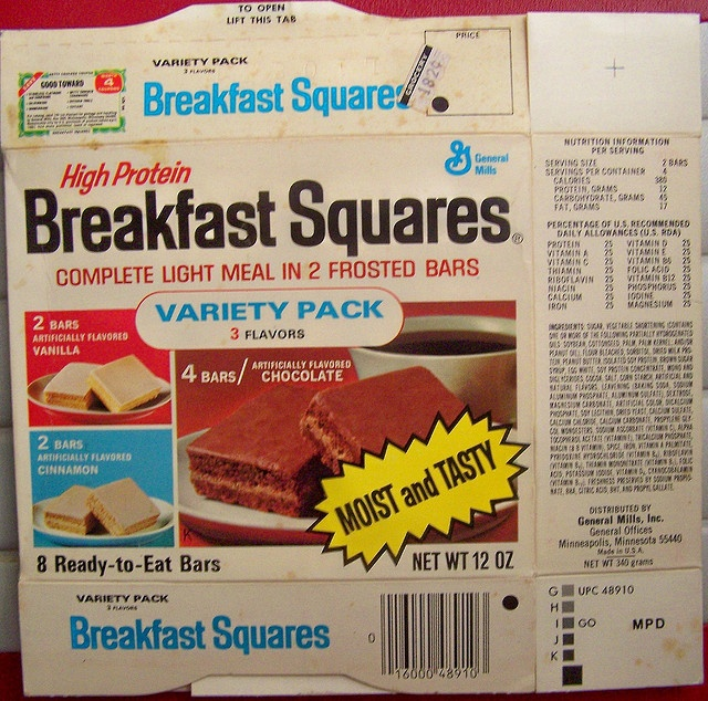 Anyone else remember these?   I thought they were great.  Wish General Mills would bring them back.