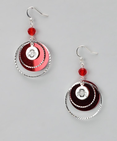 Take a look at this Ohio State Game Day Earrings on zulily today!