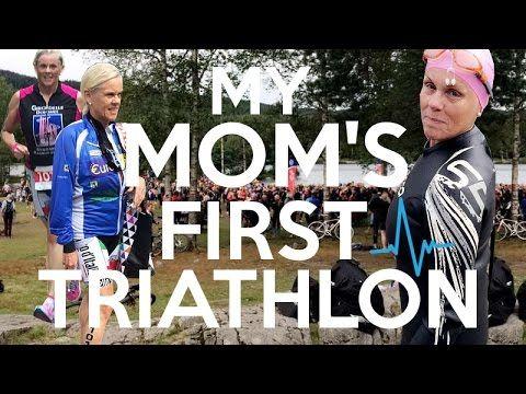 My mom's first triathlon! | SIMPLE RUNNER.