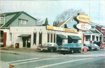 Tim Hortons - Store #1 opened on May 17, 1954 in Hamilton, Ontario
