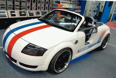 Audi tt custom tt 8n custom suv tuning tuned cars for Audi tt 8n interieur tuning