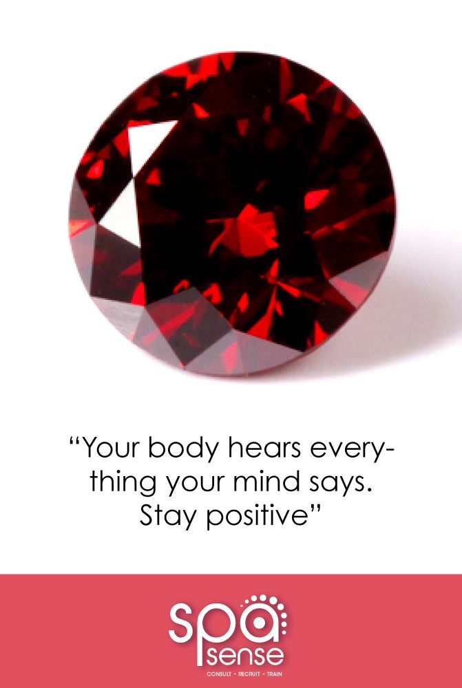 Your body hears everything your mind says... Stay positive