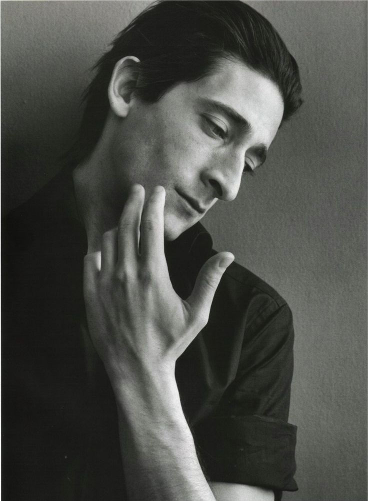 Adrian Brody - He is not handsome but he is mysteriously attractive.  He makes you want to go to the end of the world with him.