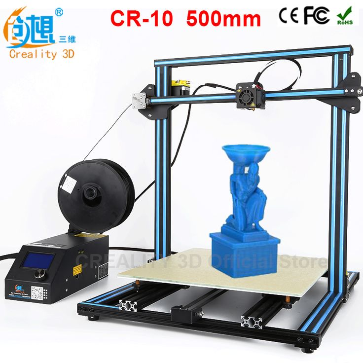 CREALITY 3D CR-10 Large Size 300*300*400mm Cheap 3D Printer DIY Kit With Aluminum Heated Borosilicate Glass Plate 200g filaments -- Locate the offer on AliExpress website simply by clicking the image