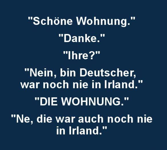 21 Flachwitze, die so nur auf Deutsch funktionieren – Doi reann