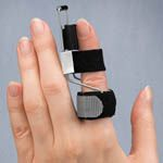 The Side Step Finger Splint helps straighten crooked fingers turning sideways due to arthritis, swelling or ligament injury.