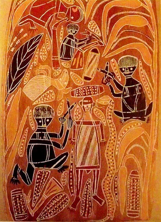 Arte aborigen australiano                                                                                                                                                                                 Más