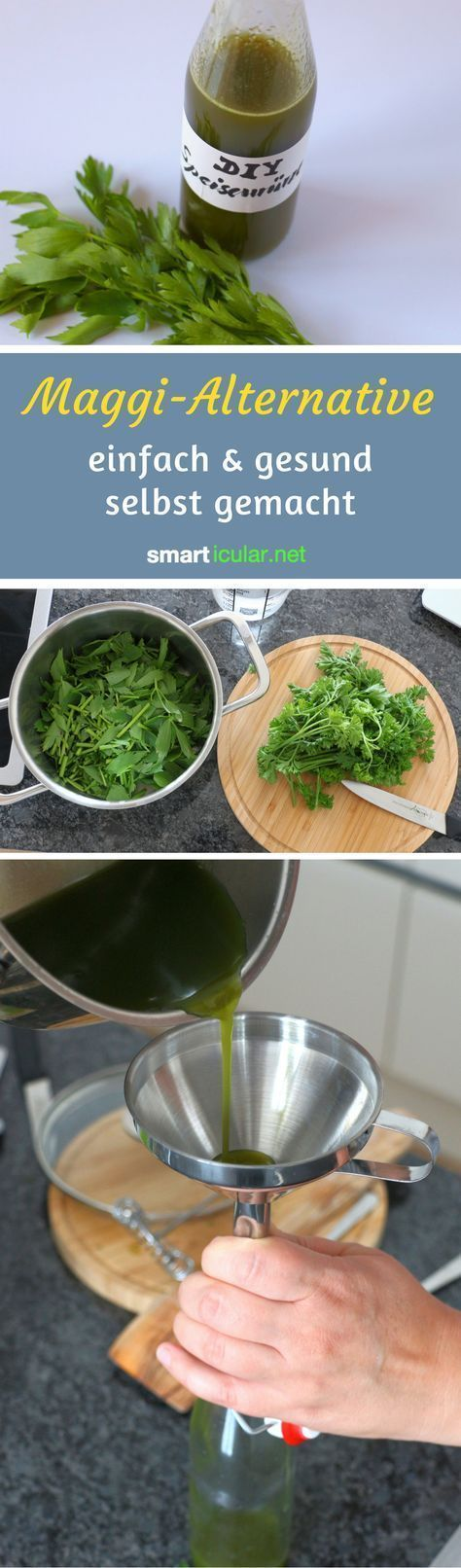 Mit diesem einfachen Rezept kannst du auf künstliche Aromen und Geschmacksverstärker verzichten und deine Speisen trotzdem mit dem typischen Maggi-Aroma verfeinern.