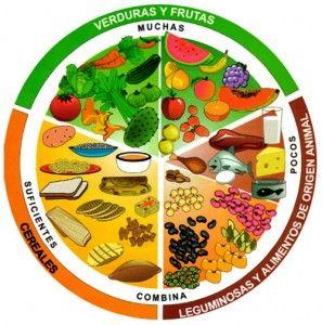 """He puesto que es un """"nuevo"""" símbolo porque en México se utiliza reglamentariamente desde enero 2006 un plato con alimentos para que la población se haga una idea de la alimentación equilibrada."""