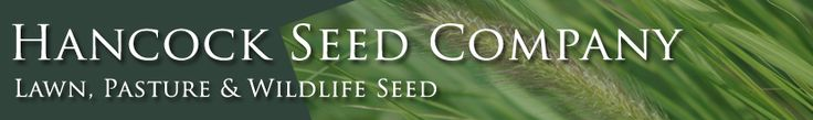 Lawn, Pasture & Wildlife Seed - get micro cover here for fall and watch those flowers grow!
