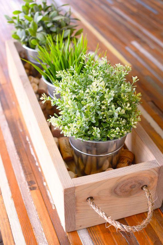 25 Best Ideas About Wooden Box Centerpiece On Pinterest
