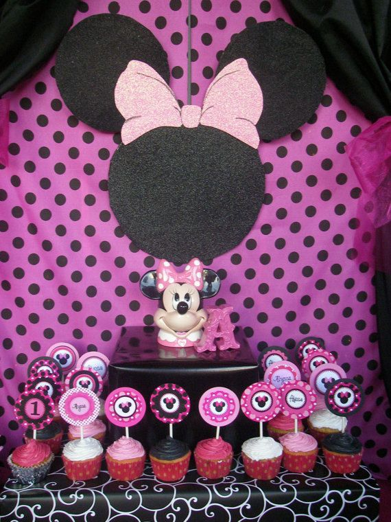 Minnie Mouse Minnie Mouse Wall Plaque Pink By PoppysmicBowtique, $26.00. Minnie  Mouse Baby ShowerMinnie ...