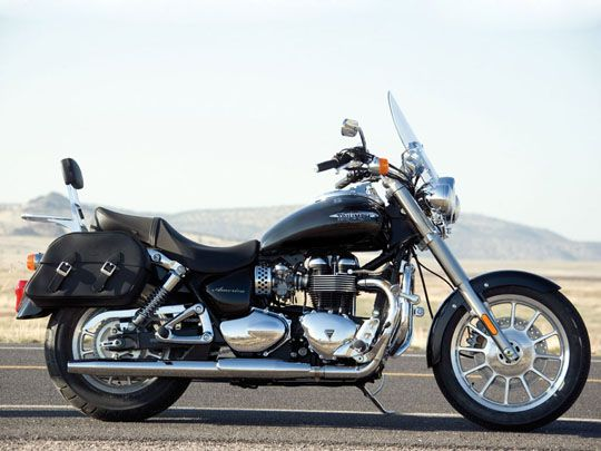 World's Coolest Motorcycles - Triumph America Motorcycle 2010