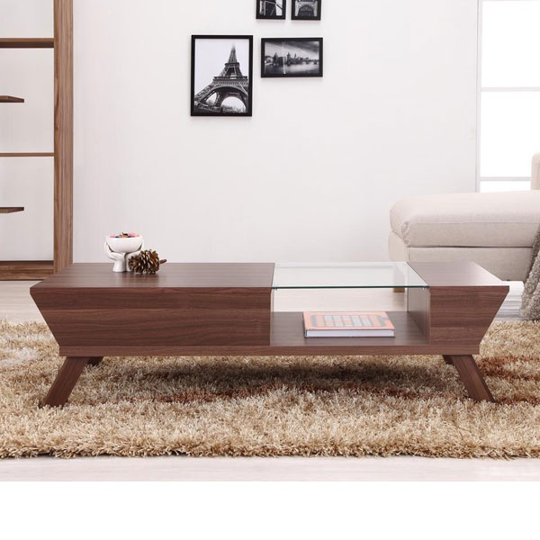 Modern Classic Retro Mid Century Style Accent Coffee Table Walnut Brown  Glass - 29 Best Images About Coffee Tables On Pinterest Coffee Table