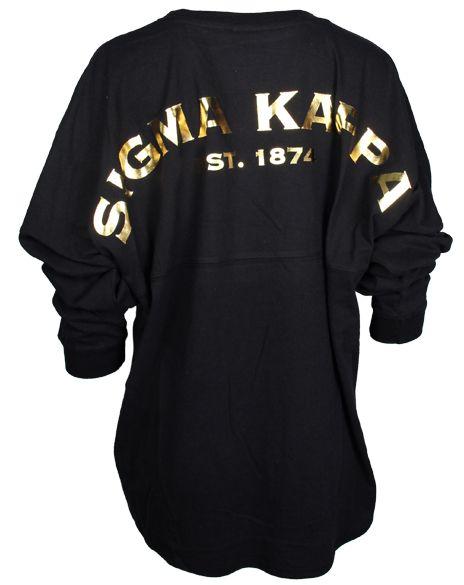 Sigma Kappa Derby Jersey by Adam Block Design   Custom Greek Apparel & Sorority Clothes   www.adamblockdesign.com