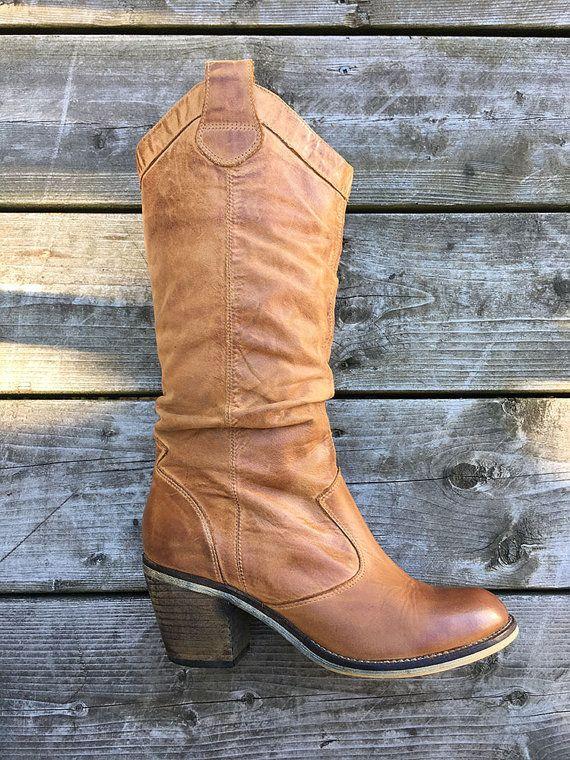 Taille US pour femmes: bottes en cuir par BelleLuretteVintage