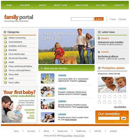 Portal Family SWiSH Templates by Di