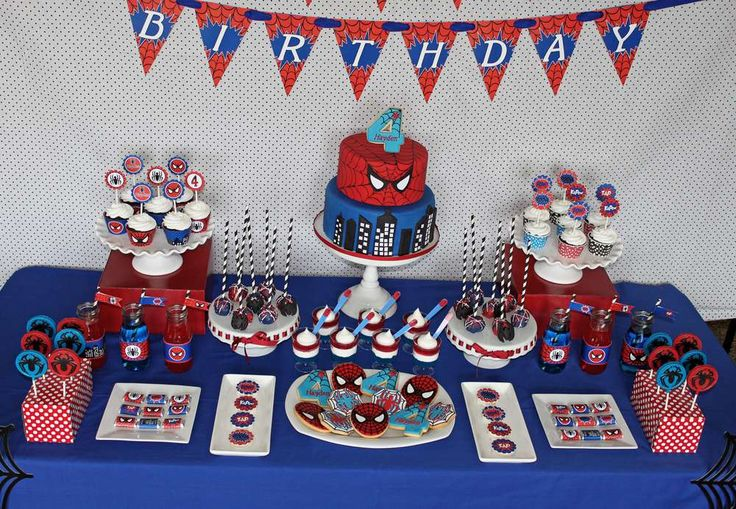 Spiderman Birthday Party Ideas | Photo 7 of 34