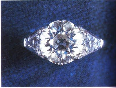 *THE DIAMONDS FOR QUEEN ELIZABETH II's:  engagement ring from Prince Phillip have a special history: They came from a tiara belonging to Philip's mother, Princess Andrew of Greece.