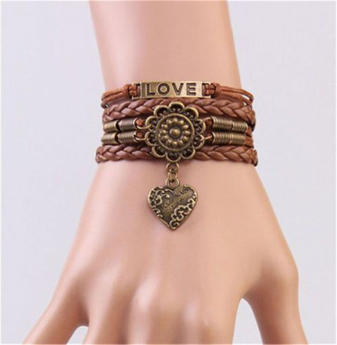 Love Antique Copper Flower by booegies9