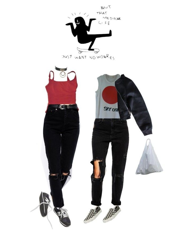 """""""Interview 2"""" by lingling101 ❤ liked on Polyvore featuring Eres, Vans, ASOS and Comme des Garçons"""