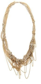 Tom binns Uber Urban Tangled Chains Necklace on shopstyle.com