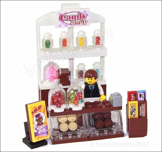 Victorian candy shop