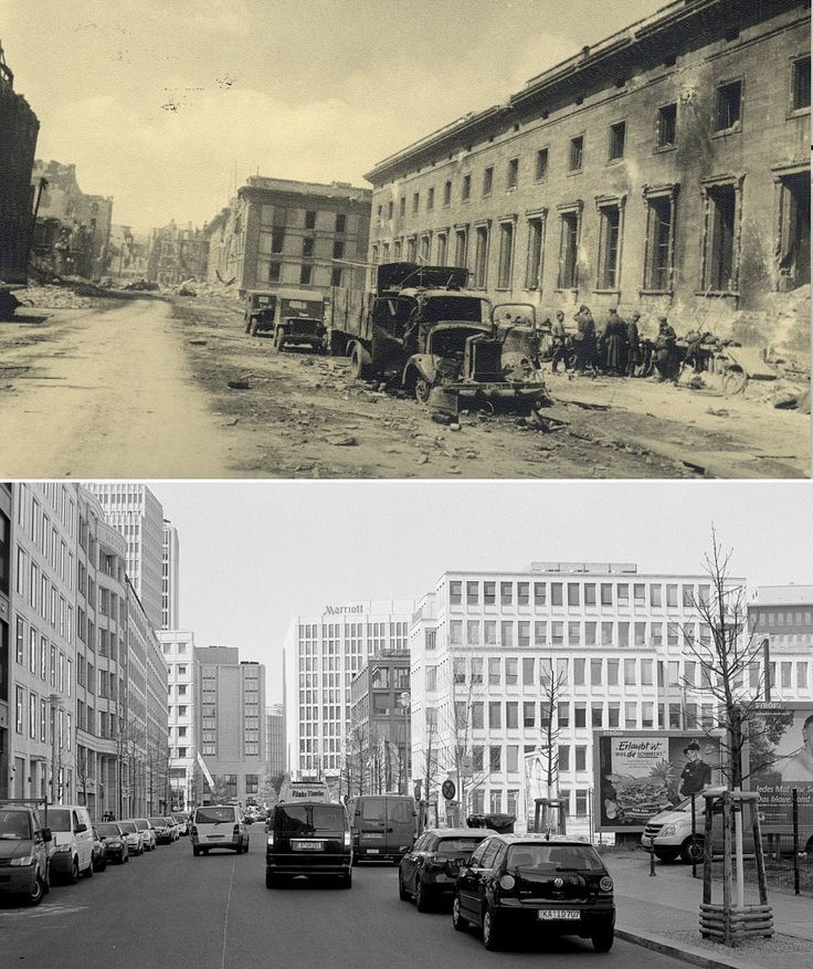 A before and after in Berlin