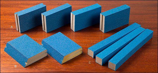 Norton 5X Sanding Sponges - Woodworking