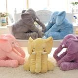 Super cute elephant plush pillow for toddlers
