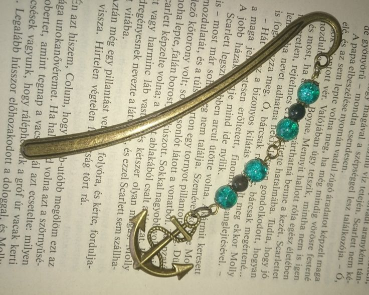 Bookmark - Metal- Anchor