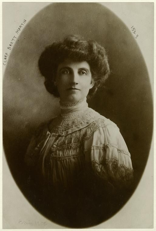 Clara Brett Martin was the first woman to become a lawyer in Canada (and the entire British Empire).