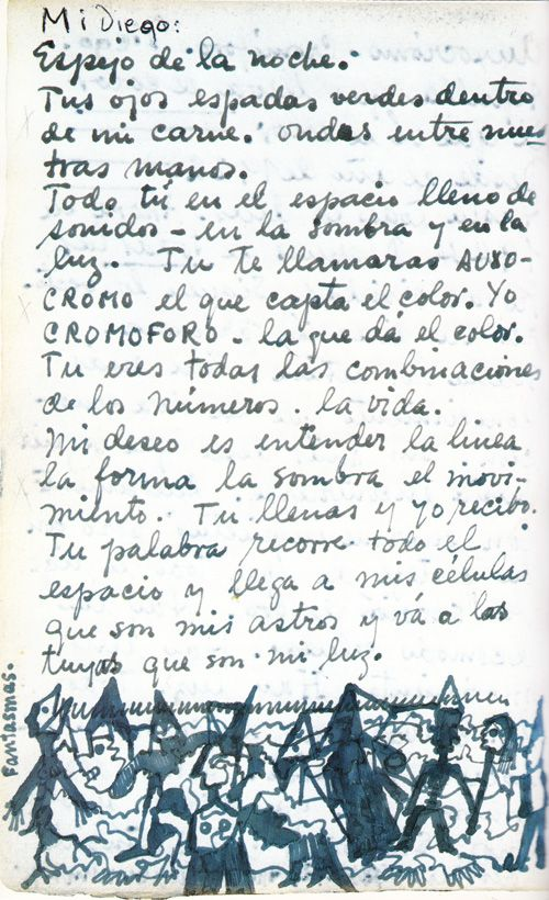 Frida Kahlo's Passionate Hand-Written Love Letters to Diego Rivera | Brain Pickings