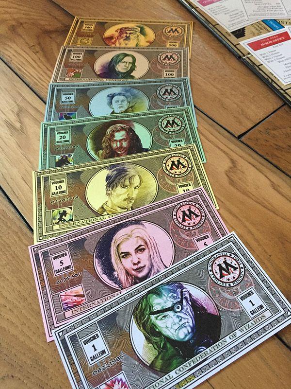 Custom Harry Potter Monopoly Board on Behance                                                                                                                                                      Mehr