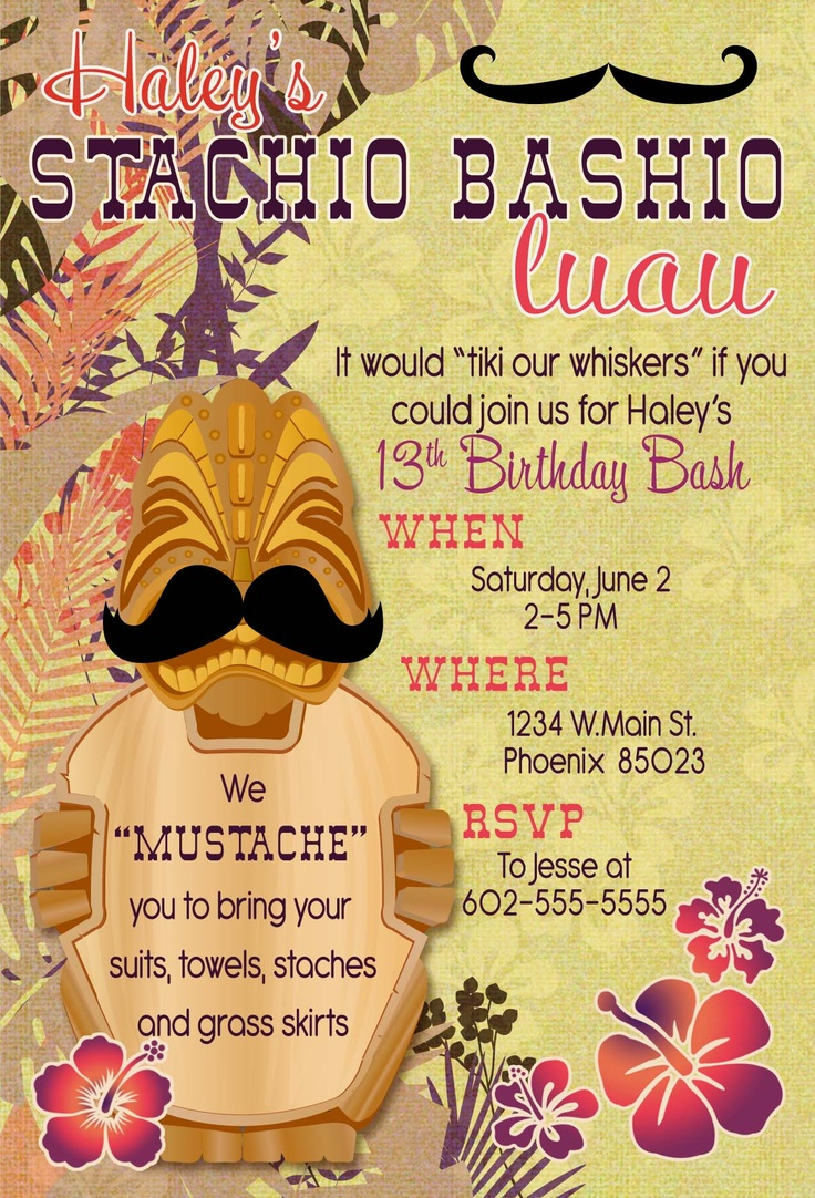 19 best Invitations images on Pinterest   Birthdays, Cards and ...