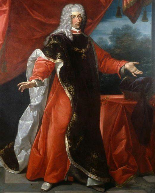 Ritratto del Duca di Modena Rinaldo d'Este (1655-1737), con le vesti dell' Ordine del Toson d'Oro