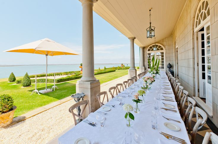 Campbell Point House on the Bellarine Peninsula is an impressive, private estate that you can hire out exclusively for your big day.