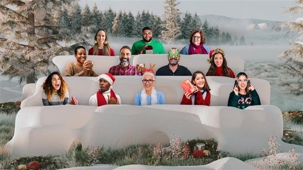 Holiday Parties Background Fun With Microsoft Teams Holiday Party Photo Party Background Fun Holiday Games