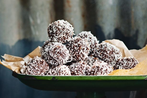 A splash of coconut rum twists an Aussie childhood favourite into a grown-up treat.