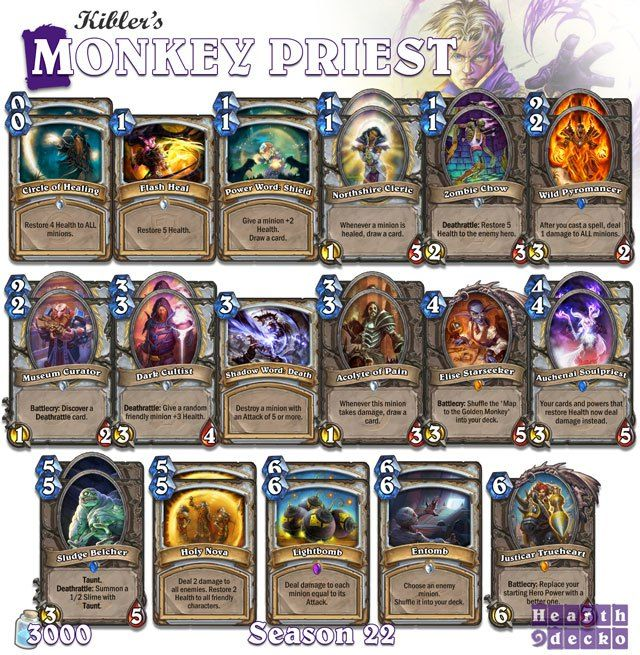 Priest Deck: 52 Best Images About Hearthstone