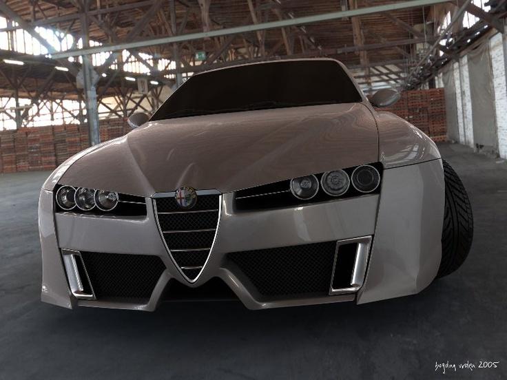 Alfa Romeo 159 tuning