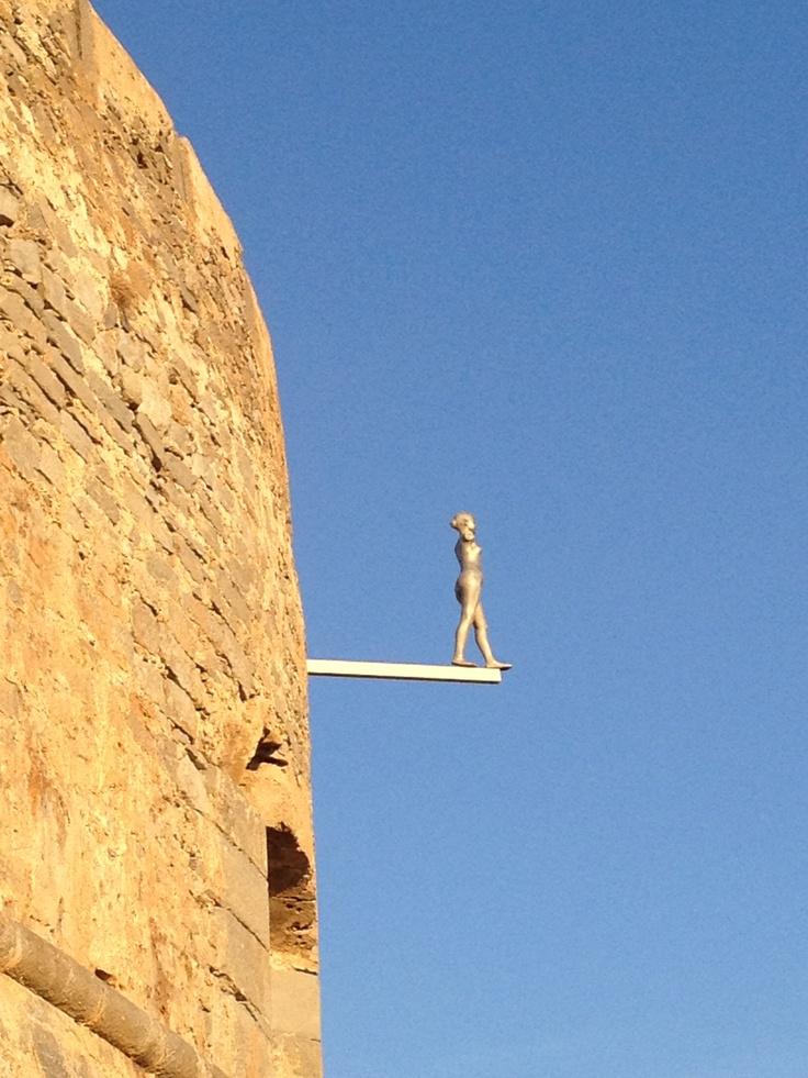 Cultural trip to Crete | Spinaloga. Tsoklis installation | Sept 2012
